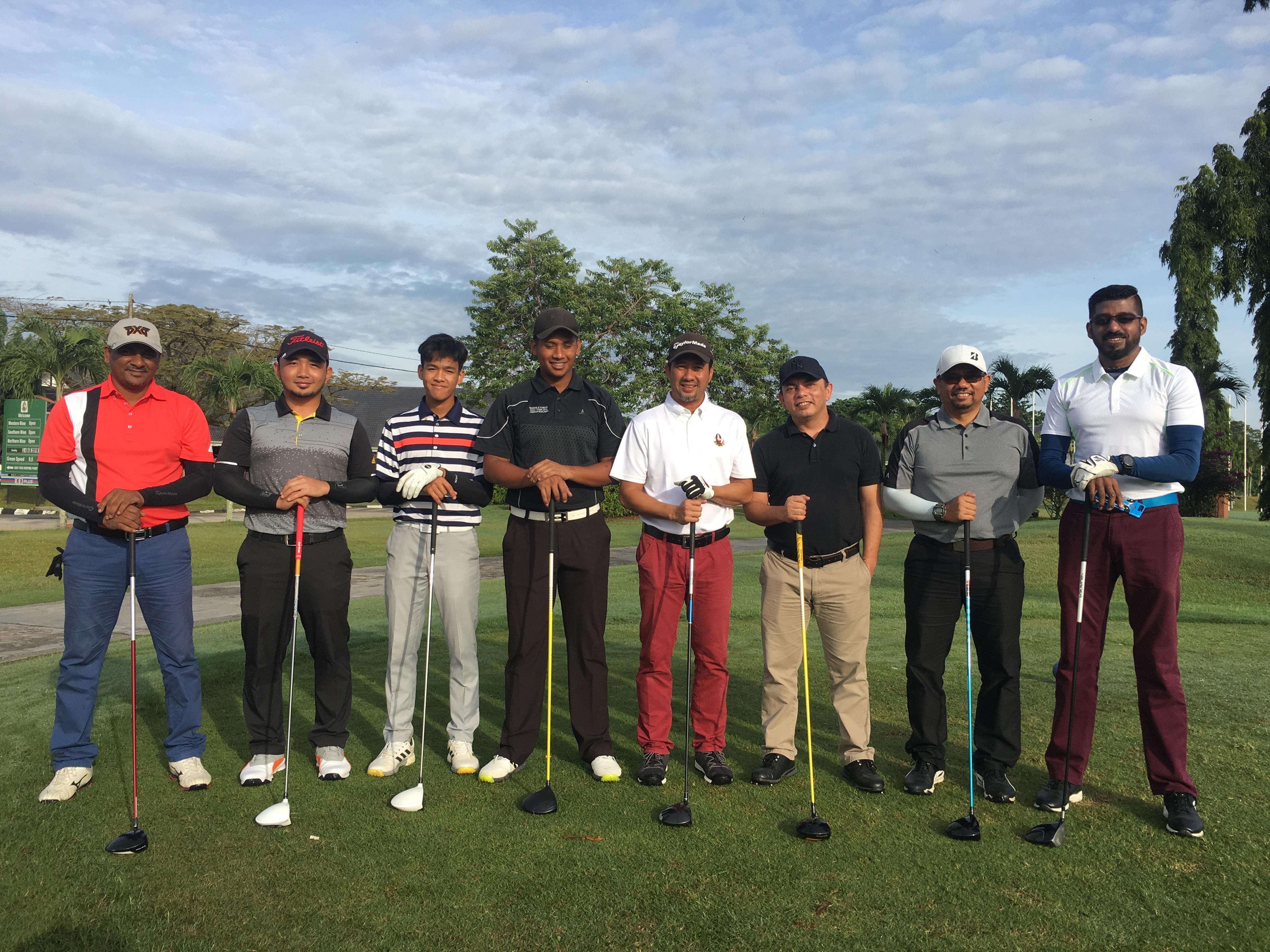 Baiduri Dimensi Golfer Club